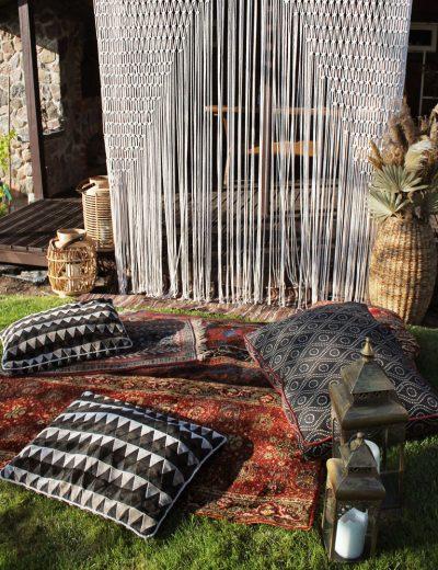 Boho kilimų nuoma