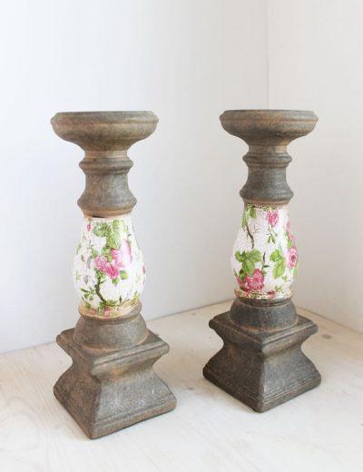 Žvakidės cilindrinėms žvakėms nuoma