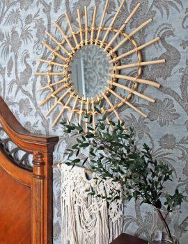 Boho veidrodis dekoracijos nuoma
