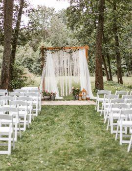 Medinės arkos ir foto sienelės nuoma vestuvėms
