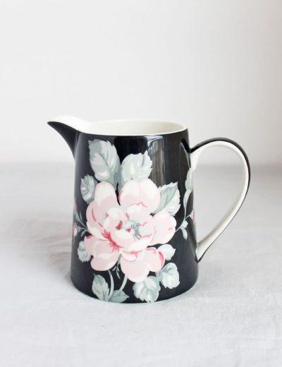 Gėlėta vaza - ąsotėlis