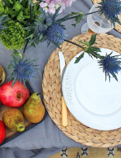 Pintos polėkštės šventiniam stalui