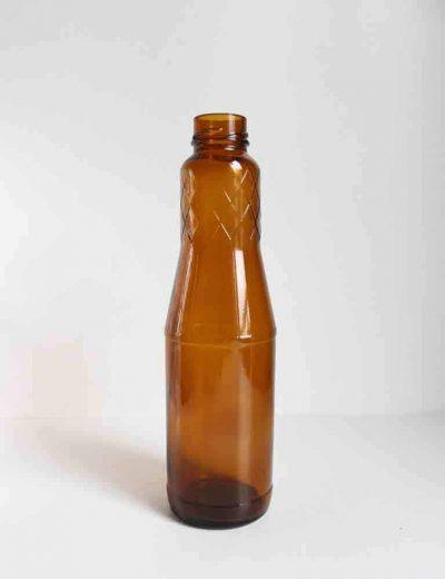 Ruda vaza - butelys