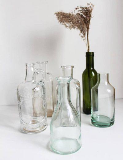 Stiklinės vazelės